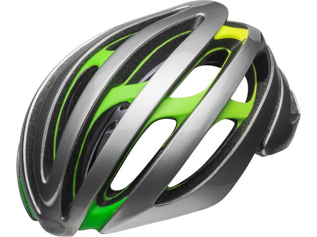 Bell Zephyr MIPS - Casco de bicicleta - gris/verde